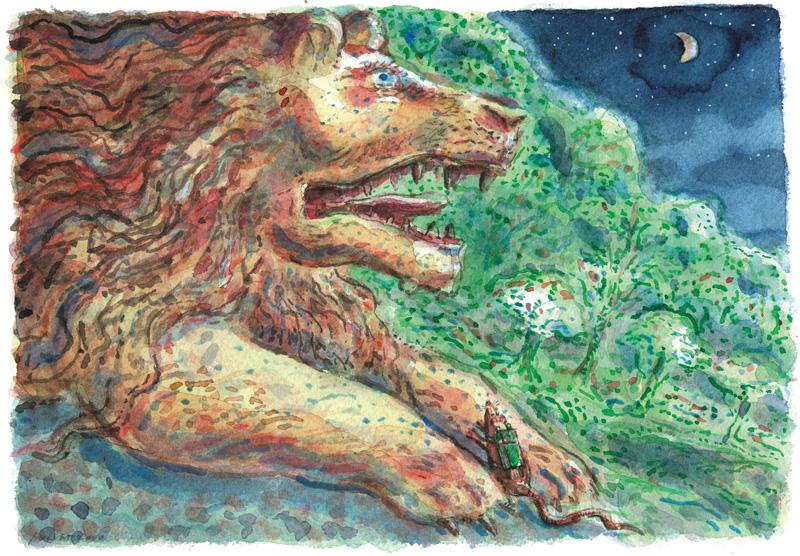 Leeuw uit Marco Christoffel